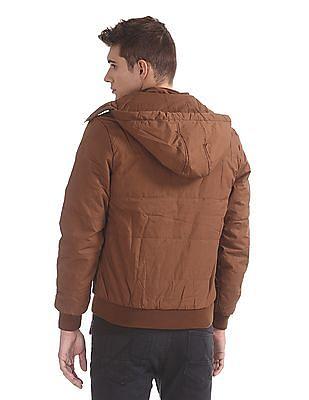 U.S. Polo Assn. Denim Co. Hooded Bomber Jacket