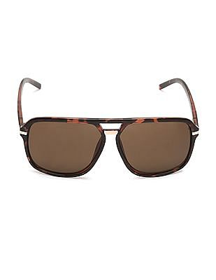 Flying Machine Tinted Matte Frame Sunglasses