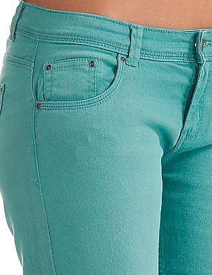 Elle Slim Fit Mid Rise Jeans