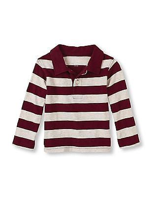 The Children's Place Baby Boy Striped Polo Shirt