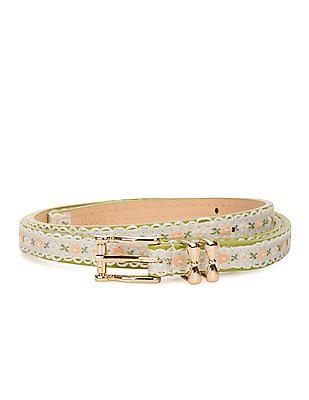 SUGR Slim Lace Trim Belt