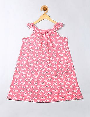 GAP Girls Printed Flutter Nightgown