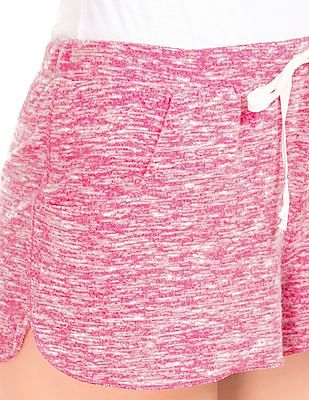 Aeropostale Heathered Knit Shorts