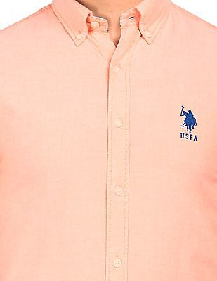 U.S. Polo Assn. Tailored Fit Button-Down Shirt