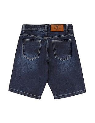 Cherokee Boys Slim Fit Denim Shorts