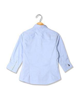 U.S. Polo Assn. Women Regular Fit Cotton Shirt