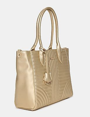 Stride Quilted Tote Bag