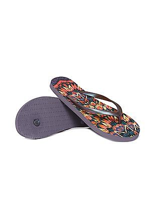 Aeropostale Aztec Print Flip Flops