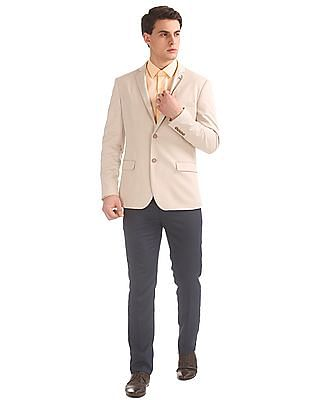 Arrow Sports Single Breasted Slim Fit Blazer