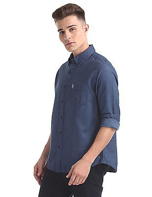 U.S. Polo Assn. Button Down Collar Regular Fit Shirt