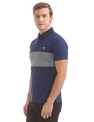 Nautica Short Sleeve Fashion Polo