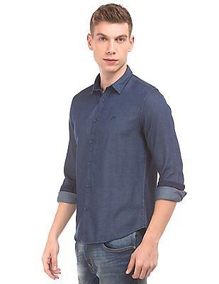 Ed Hardy Patterned Slim Fit Shirt