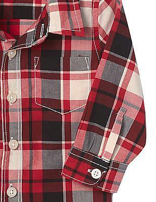 GAP Baby Love Plaid Shirt