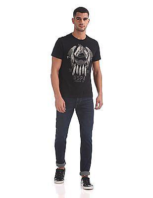 U.S. Polo Assn. Denim Co. Standard Fit Printed T-Shirt