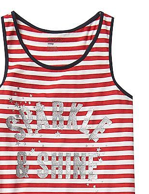 GAP Girls Americana PJ Racerback Tank