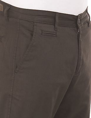Roots by Ruggers Modern Fit Solid Chinos