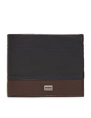 Flying Machine Colour Block Bi-Fold Wallet