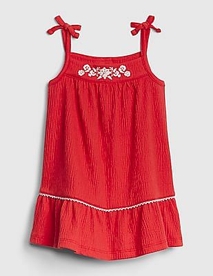 GAP Baby Embroidered Tank Dress