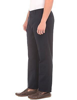 Ruggers Mid Rise Regular Fit Trousers