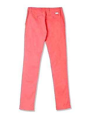Gant Flat Front Solid Chinos
