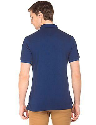 U.S. Polo Assn. Button Down Collar Pique Polo Shirt