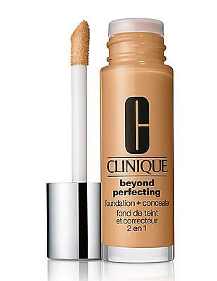 CLINIQUE Beyond Perfecting™ Foundation + Concealer - Wn 76 Toasted Wheat