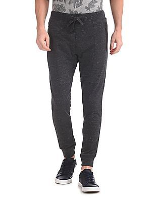 U.S. Polo Assn. Denim Co. Drawstring Waist Heathered Joggers