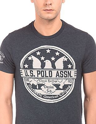 U.S. Polo Assn. Denim Co. Muscle Fit Printed T-Shirt