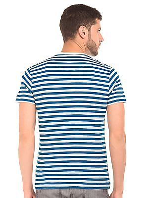 Flying Machine Striped Regular Fit T-Shirt