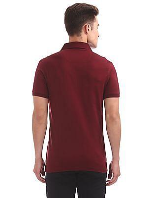 Arrow Newyork Regular Fit Solid Polo Shirt