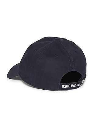 Flying Machine Appliqued Panelled Cap
