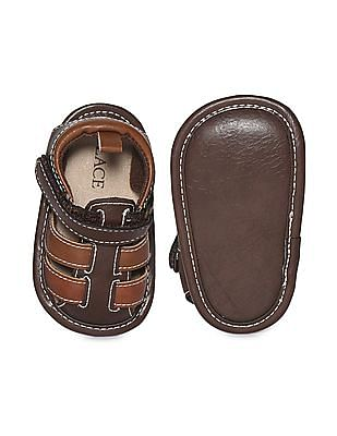 The Children's Place Baby Boy Brown Nova Sandals