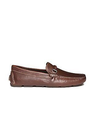 Johnston & Murphy Horsebit Leather Loafers