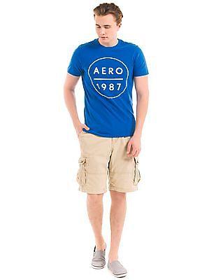 Aeropostale Appliqued Slim Fit T-Shirt