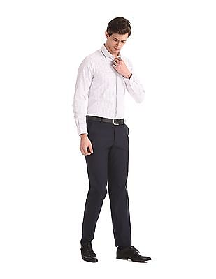 Excalibur Assorted Semi Cutaway Collar Mitered Cuff Shirt - Pack Of 2