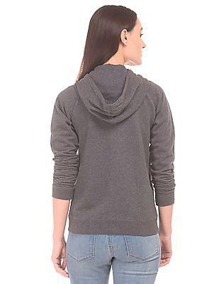 Aeropostale Hooded Zip Up Sweatshirt