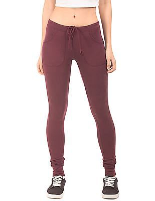Aeropostale Solid French Terry Joggers