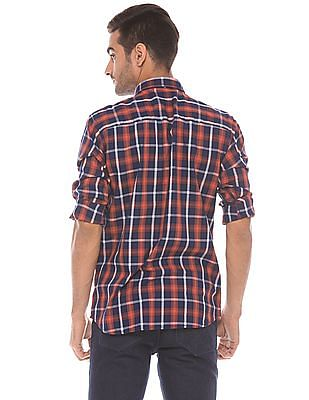 Izod Slim Fit Plaid Shirt