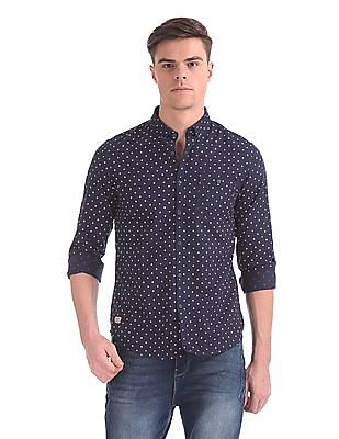 Ed Hardy Regular Fit Printed Shirt