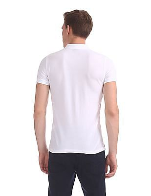 Gant The Original Slim Pique Short Sleeve Rugger