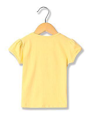 Donuts Girls Short Sleeve Printed T-Shirt