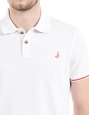 Bayisland Muscle Fit Pique Polo Shirt