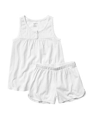 GAP Girls Dot Flutter Tank PJ Set