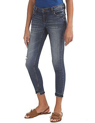 Cherokee Distressed Skinny Jeans