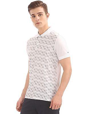 Arrow Newyork Printed Front Regular Fit Polo Shirt