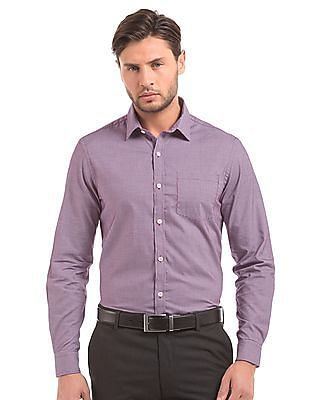 Arrow Houndstooth Slim Fit Shirt