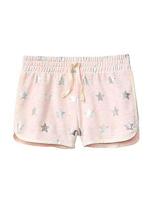 GAP Girls Print Dolphin Shorts