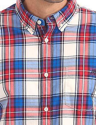 Aeropostale Button Down Tartan Check Shirt