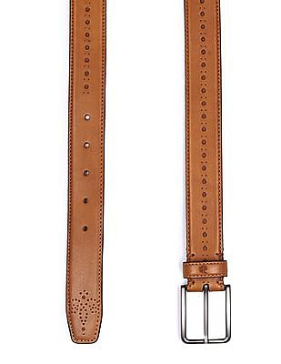 Arrow Sports Textured Leather Belt
