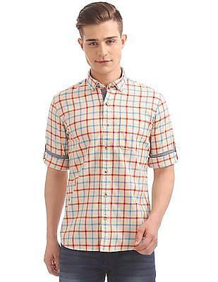 Ruggers Button Down Check Shirt